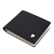 Man Wallet Man Leather Credit Card Holder Coin Pocket Brand Design Male Money Billfold Maschio Portafoglio Purse Clutch