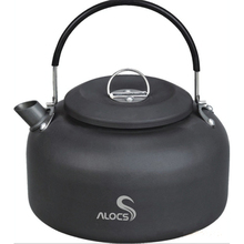 Alocs 1.4L Hard anodized Aluminum Outdoor Kettle Camping Picnic Water Teapot Coffee Pot outdoor travel tableware(China)