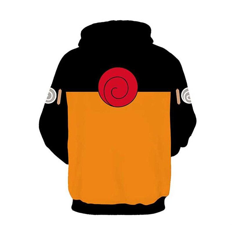 Coshome Naruto 3D Hoodies Anime Boruto Akatsuki Jacket Uchiha Itach Cosplay Costumes Kakashi Sweatshirt Men (6)