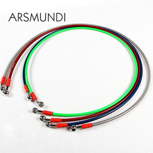 950mm to 2200mm Motorcycle Scooters Braided Steel Brake Clutch Oil Hose Line Pipe Fit ATV Dirt Pit Bike Brake Clutch Line Pipe