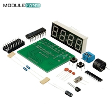 AT89C2051 Digital LED Display 4 Bits Electronic Clock Electronic Production Suite DIY Kit(China)