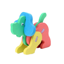 Color Random Hot Kids Toy EVA Foam 3D Creative DIY Handmade Intelligence Development Animals Puzzle Jigsaw Toys For Children(China)
