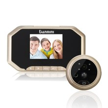 "Safurance 3"" LCD Visual Monitor Door Peephole Peep Hole Wireless 160 degree Viewer Camera Video Door Intercom Access Control"