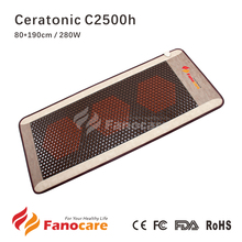 Ceratonic Thermal Infrared Therapy Korea Tourmaline Ceramic Stone Health Mattress use on ceragem Massage bed similar infrared(China)