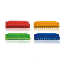 Swan Harmonica 10 Holes 20 Tones Blues Harps 4 Colors Plastic C Key Harmonica Accordions Musical Instrument Accessories For Kids