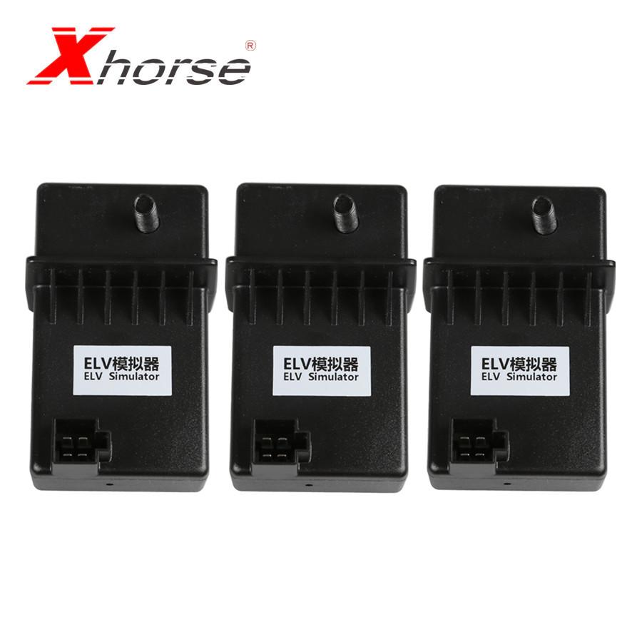 Xhorse ELV Emulator Renew ESL for Benz 204 207 212 work with VVDI MB Tool 3Pcs/lot title=