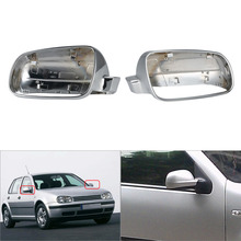 Car Auto Rearview Mirror Cover Side Door Mirror Cap Car-Styling for VW Golf MK4 1998-2004 Left / Right