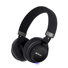 Soul IMPACT OE Bluetooth 18 hours Foldable High Efficiency Over Ear Headphones Headset,Wireless Headset