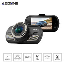 Azdome DAB201 Ambarella A12 Car DVR Camera HD 1440P 30fps 2.7 inch Video Recorder HDR ADAS Auto Cycle Recording Dash Cam GPS H40