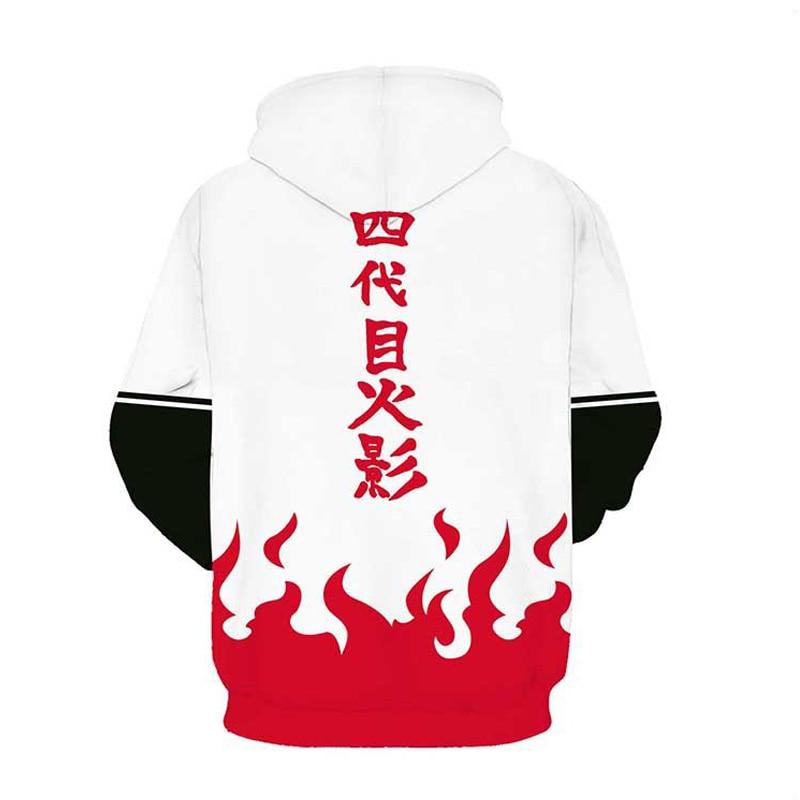 Coshome Naruto 3D Hoodies Anime Boruto Akatsuki Jacket Uchiha Itach Cosplay Costumes Kakashi Sweatshirt Men (10)