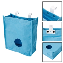 Cupboard Door Storage Bags organizer Garbage Trash Rack Holder Grocery Sundries Container Kitchen Tools(China)