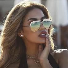 Luxury Brand Mirror Sun Glasses Aviation Style 2019 Women Punk Glasses  Fashion Brand Designer Sunglasses Ladies UV400 Sexy-in Sunglasses from  Apparel ... d9dce496f81a