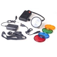 Kohree XPG 8W Cree LED Mining Lamp Hunting Headlight Headlamp 6600mah LED 3-mode Waterproof IP65 with 4 Filters(China)