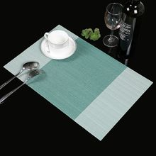 4Pcs PVC Insulation Bowl Tableware Placemat Place Mat Coaster Dining Table Decor Kitchen Accessories