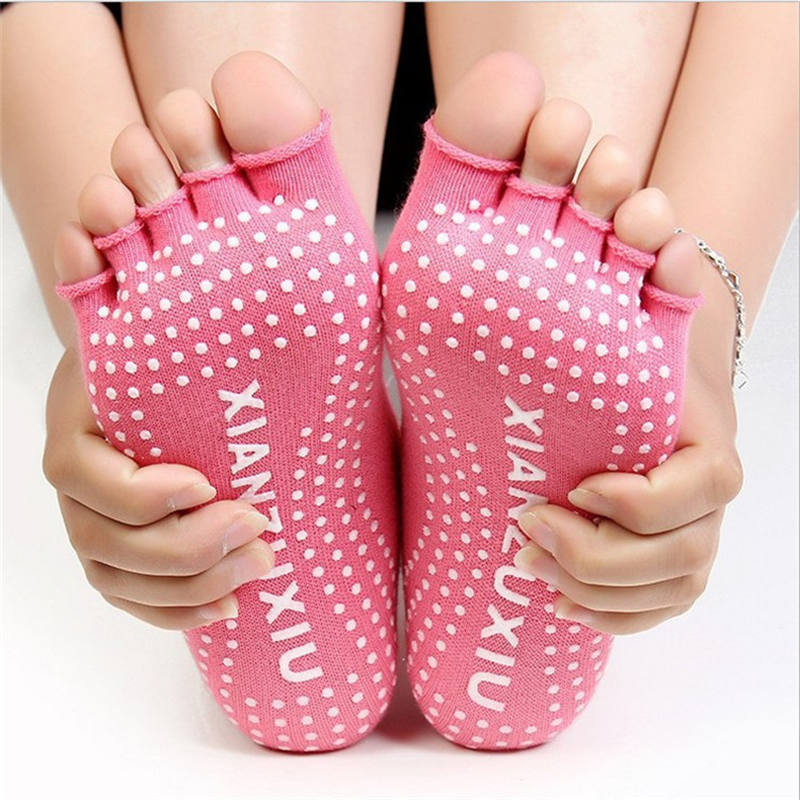 17 Colorful Socks Women Dance For Girls Short Socks With Silicone Peds Liners Tube Socks 18