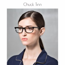 No Burden CHUCK TINN  Avant garde fashion design men's glasses frame women's eye frames Cellulose acetate sheet eyewear frames