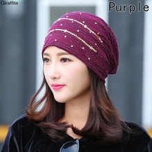 Spring Autumn Breathable Women's Hat Lace Flower Beanie Scarf Cap Thin Hats For Women Newest Gorro Feminino Headwear(China)