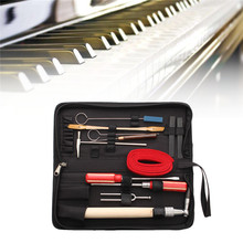 Zebra 13pcs/Set Piano Tuning Maintenance Tools Kit with Case For Piano Musical Instruments Parts Accessories