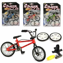 2017 New Baby Toys Kids Functional Finger Mountain Bike + Spare Tire + Tools Bicycle Model Kits Children Gifts