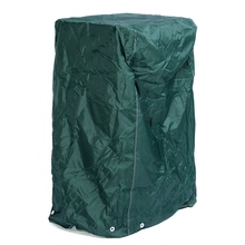High Quality 120x64x64cm Outdoor Garden Furniture Stacking Chair Cover with Tie Down Cords Dustproof Furniture Protect Cover(China)