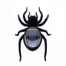 Novelty Creative Gadget Solar Power Robot Insect Car Spider For Children's Christmas Toys Gifts Xmas Festival(China)