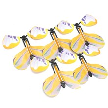5Pcs Transform Flying Butterfly Cocooned into a Butterfly Trick Prop Magic Toy Novelty Surprise Prank Joke Mystical Classic Toy(China)