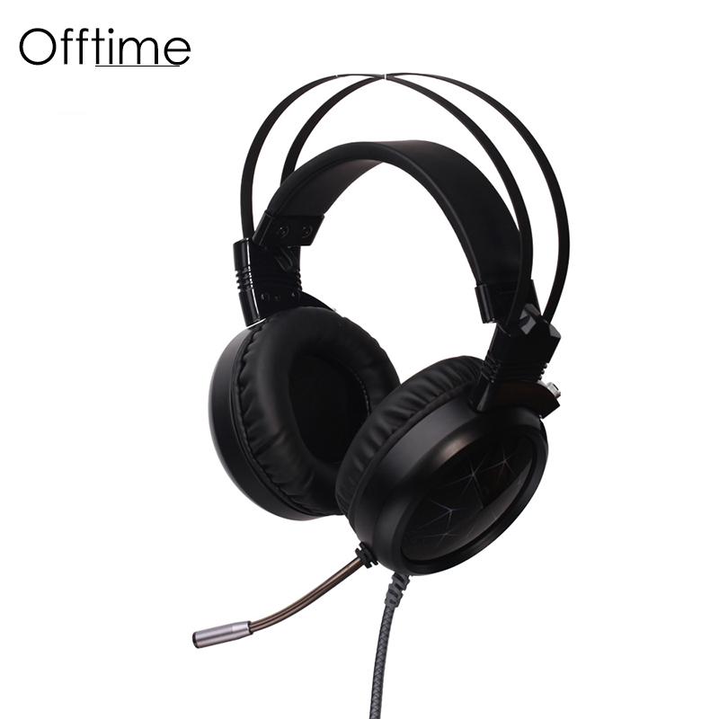 Offtime CC Super bass Headphones High quality subwoofer headset hot HiFi hadphone 3.5mm noise cancelling sport gaming earphones<br>
