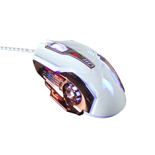 Adjustable DPI 3200 Usb 6d Driver Optical Gaming Mouse With Multicolored Breath Led Light PC Computer Mouse For Overwatch LOL SZ(China)