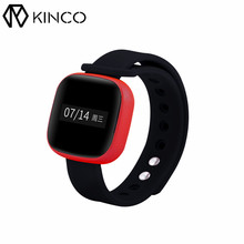 KINCO OLED Bluetooth IP67 Waterproof Smart Bracelet Step Pedometer Health Monitor Fitness Goal Setting Wristband for IOS/Android(China)
