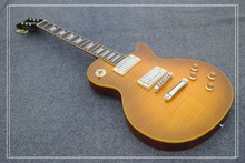 bad dog NEW 1959 R9 les Tiger Flame paul electric guitar Standard LP 59 electric guitar in stock EMS free shipping(China)