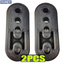 2Pc/Lot Heavy Duty Sport Universal Auto Car Rubber Exhaust Hanger Pipe Mount Mounting Bracket Hanger Replacement
