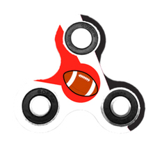 Spinner Triangle Single football creative finger gyro Autism Focus Stress Reliever Toys For Kids Adults(China)