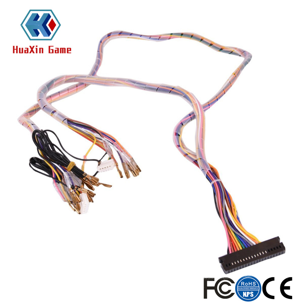 Pc Usb To Jamma Arcade Converter Controller Boards For Fighting Game Box Computer Wiring Harness Interface Cabinet Wire Pcb Cable Consoles Pandora