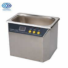 35W/50W AC 220V 700mL Ultrasonic Cleaner High Quality Stainless Steel Ultrasonic Cleaner 43-45KHz With EU Plug
