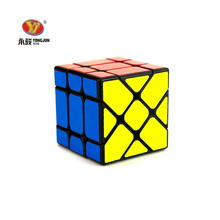 YONGJUN 3*3*3 Speed Magic Cube Special Challenge Square Puzzle Cubes Children Kids Brain Teaser IQ Learning Educational Toys(China)