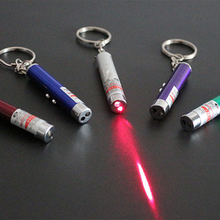 Bulk 1pc Metal Laser funny cat stick Fashion Pet Toys Laser Pointer Pen Cat Play Toy with Cheap Price(China)