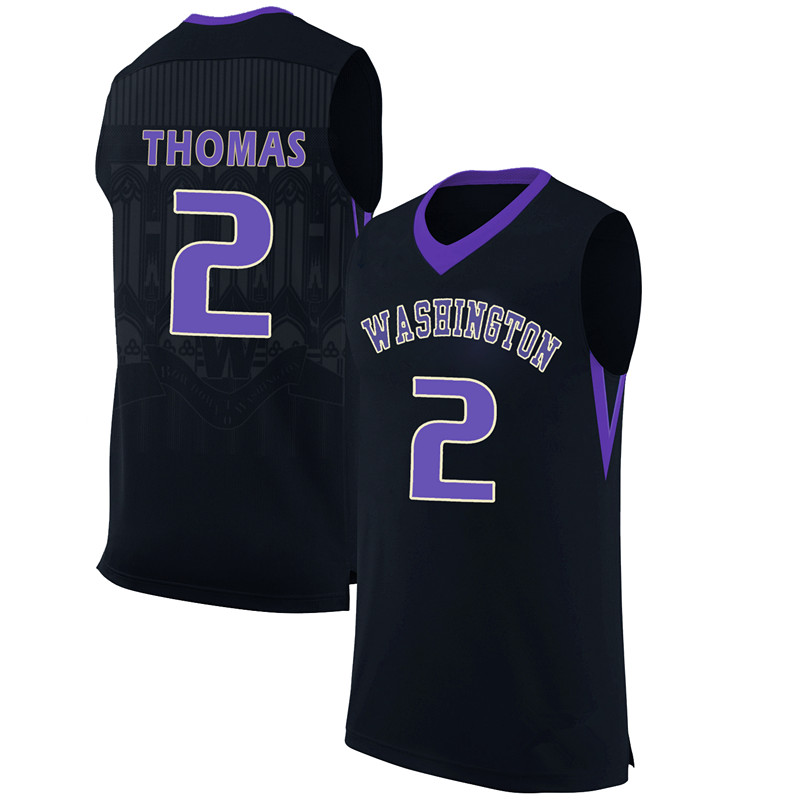 #2 Isaiah Thomas #3 Brandon Roy WASHINGTON College Basketball Jersey Custom Any Name and Number Retro Throwback Basketball(China (Mainland))