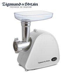 Zigmund & Shtain ZMG-006 Мясорубка 1600 Вт 1,9 кг/мин двигатель с уменьшенным уровнем шума защита двигателя от перегрузки