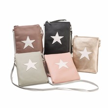 recycled PU polyester lady's cross body bag cover versatile women travel shoulder bag satchels handbag labels(China)