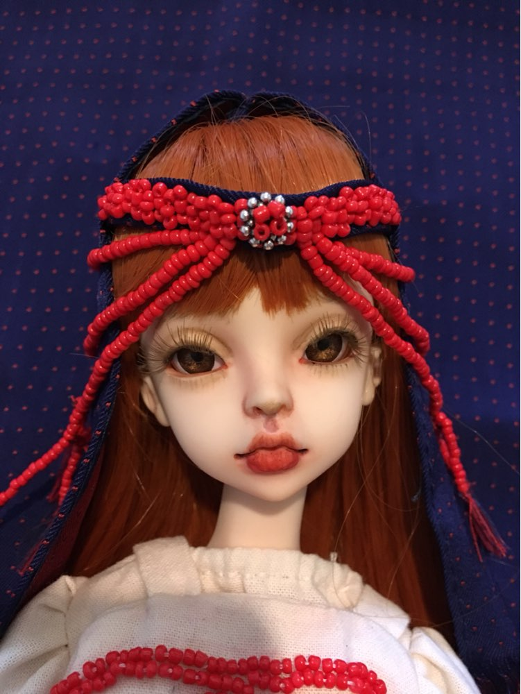 1//8 BJD Doll SD Doll Eugenia Free Face Make UP+Free Eyes-Human Feet