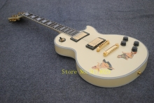 bad dog musical instruments professional chibson lp electric guitars cream lp custom guitar in stock(China)