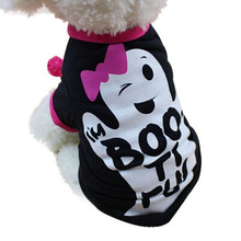 New Halloween Pet Dog Clothes Coat Cat Puppy Winter Warm Jacket Apparel Costume Small Kitty Doggy Clothing For Dress Up(China)
