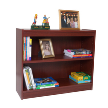 "Excalibur Heavy Duty Shelf 36""H Wood Veneer Bookcase- Mahogany()"