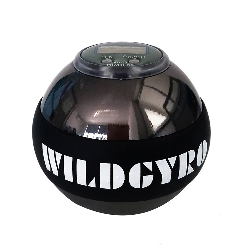 Gyroscope Ball No Wrist Light Power Ball Arm Muscle Relax Exerciser Fortifying Rotor Gym Hand Exerciser Gyro Ball (14)