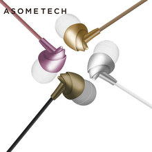 ASOMETECH 3.5mm C200 Wired Earphone For iPhone 5 6 Xiaomi Xiomi Bird Headset Dynamic Stereo Sport In Ear Earbuds With Microphone(China)