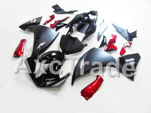 Motorcycle Fairings For Yamaha YZF R1 1000 YZF-R1 YZF-R1000 2009 2010 2011 ABS Plastic Injection Fairing Bodywork Kit Black Red(China)