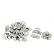 UXCELL Suitcase Toolbox Drawer Stainless Steel Hasp Toggle Latch Silver Tone 10Pcs
