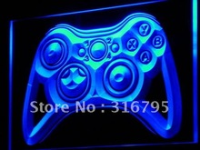 i733 Game Controller Console Bar Pub LED Neon Light Sign On/Off Switch 7 Colors 4 Sizes