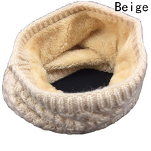 Hot Sale New Fashion Winter Scarf For Women Men General Thickened Wool Collar Scarves Boys Girls Neck Scarf Cotton Unisex(China)
