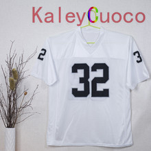 Retro star #32 Marcus Allen Embroidered Throwback Football Jersey M&N 48 50 52 54 56 Jerseys
